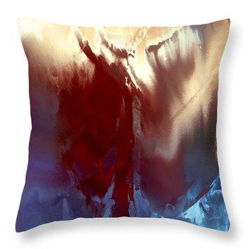 Aphrodite Anadyomene Throw Pillow