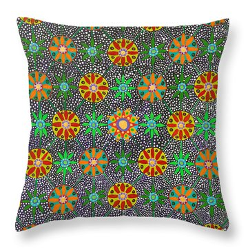 Ayahuasca Vision Throw Pillow