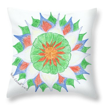 4 Throw Pillow
