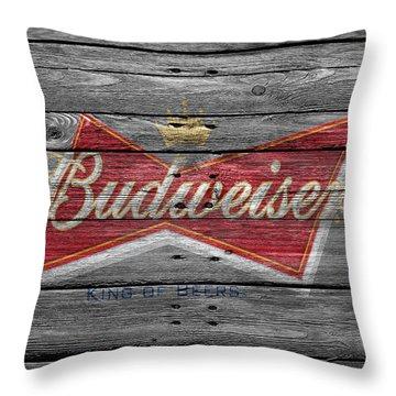 Budweiser Throw Pillow