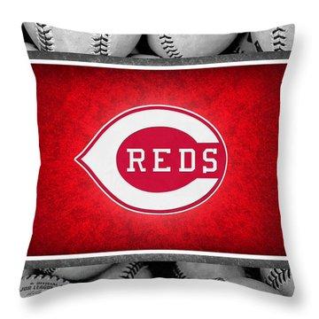 Cincinnati Reds Throw Pillow