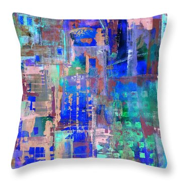 Cityscape Throw Pillow