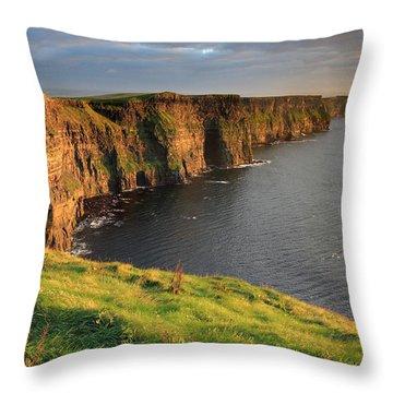 West Coast Throw Pillows
