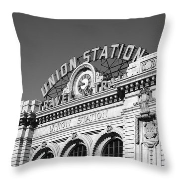 Denver - Union Station Throw Pillow