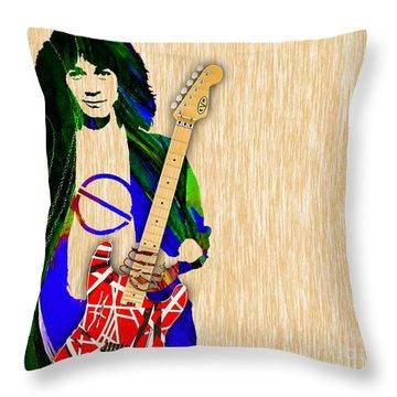 Eddie Van Halen Special Edition Throw Pillow