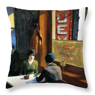 Chop Suey Throw Pillow