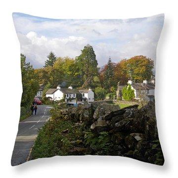 England Lake District Throw Pillow