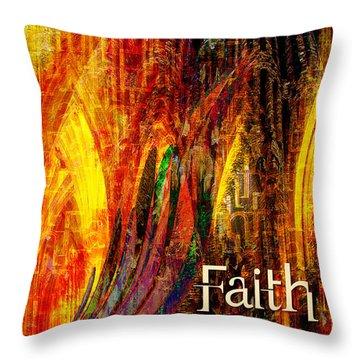 Faith Throw Pillow