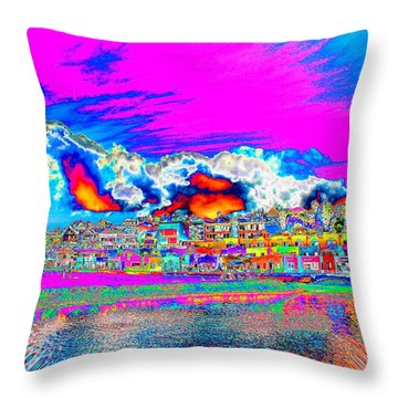Throw Pillow featuring the photograph For Instance by Nick David