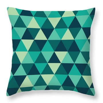 Geometric Art Throw Pillow