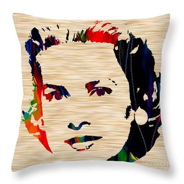 Grace Kelly  Throw Pillow