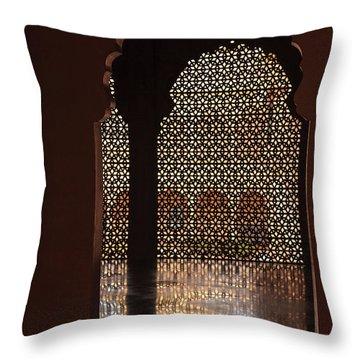 Jainism Throw Pillows