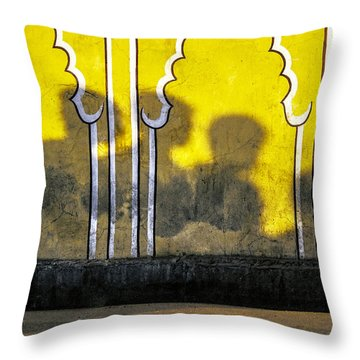 4 Is Company Throw Pillow