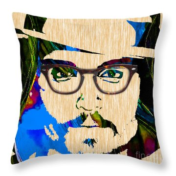 Johnny Depp Collection Throw Pillow