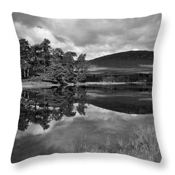 Loch Tulla Throw Pillow