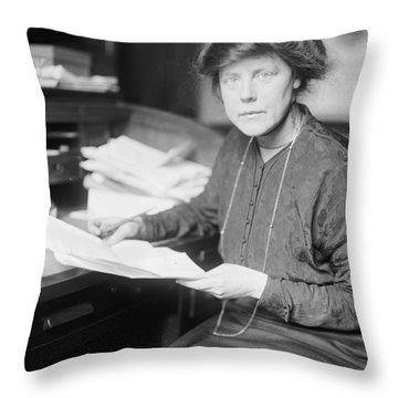 Lucy Burns (1879-1966) Throw Pillow