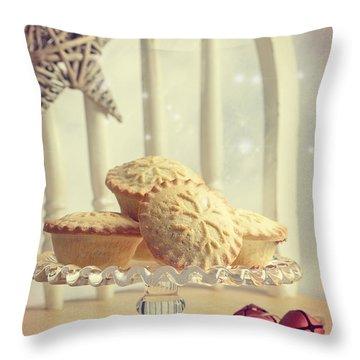 Mince Pies Throw Pillow