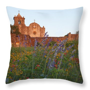 Presidio La Bahia 2 Throw Pillow