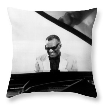 Piano Keyboard Throw Pillows