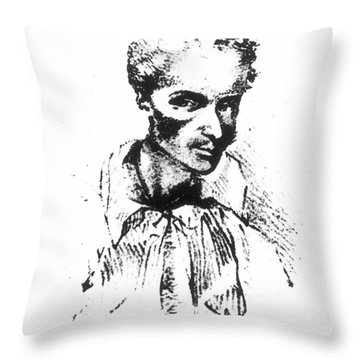 Rene Laennec (1781-1826) Throw Pillow by Granger