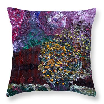 Spring In New Jersey Throw Pillow