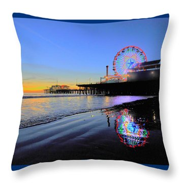 Star Wheel Throw Pillow