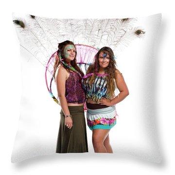 Studio Portraits - Santa Barbara Throw Pillow