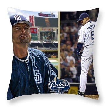 Trevor Hoffman Throw Pillow