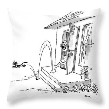 Abstinence! Throw Pillow