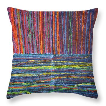 Untitled Throw Pillow by Kyung Hee Hogg
