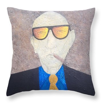 Wild Bill Dub Throw Pillow by Steve  Hester