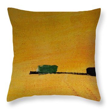 Without Name Throw Pillow