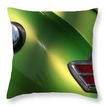 40 Ford - Tank N Tail Light-8527 Throw Pillow by Gary Gingrich Galleries