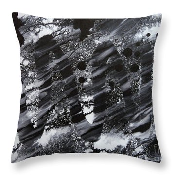 Curve Line Throw Pillow