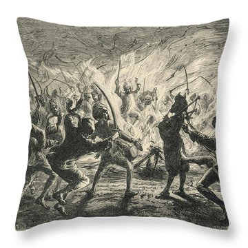 Semipalmated Sandpipers Throw Pillow by Yva Momatiuk John Eastcott