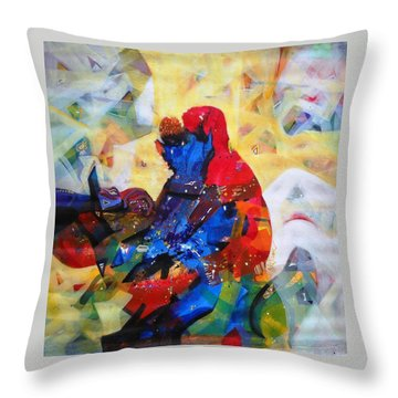 Sold Throw Pillow