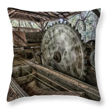 42 Throw Pillow by Betty Depee