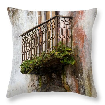 What It Once Was Throw Pillow by Rene Triay Photography