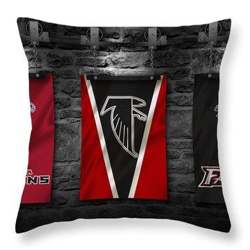 Atlanta Falcons Throw Pillows