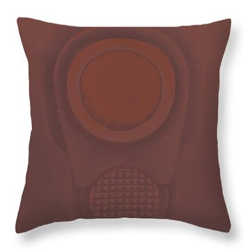 M1911a1 Throw Pillows