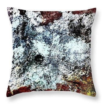 Textured 4 Throw Pillow