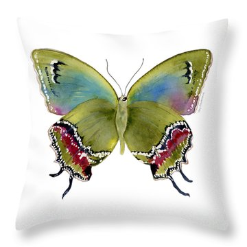 46 Evenus Teresina Butterfly Throw Pillow
