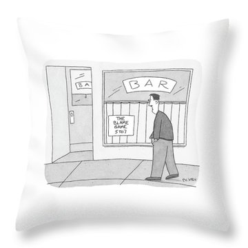 New Yorker October 24th, 2005 Throw Pillow
