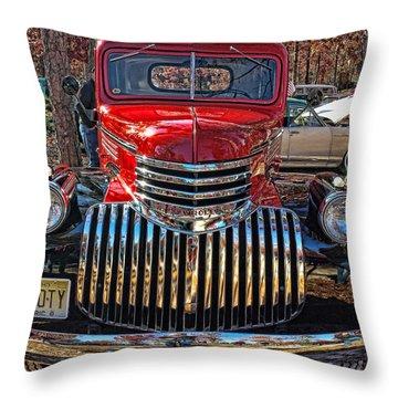 46boty Throw Pillow