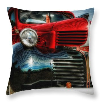 47 Dodge Pickup Throw Pillow