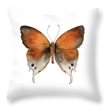 47 Mantoides Gama Butterfly Throw Pillow