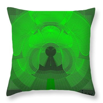 471 - The Keyhole Throw Pillow by Irmgard Schoendorf Welch