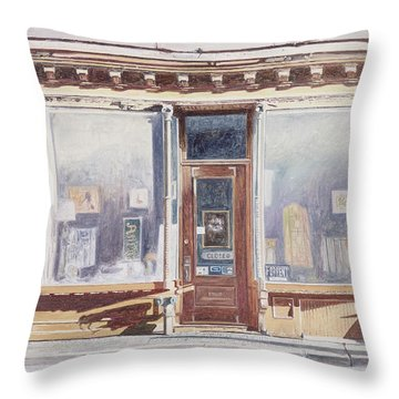 471 West Broadway Soho New York City Throw Pillow by Anthony Butera