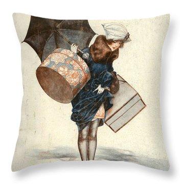 France Throw Pillows