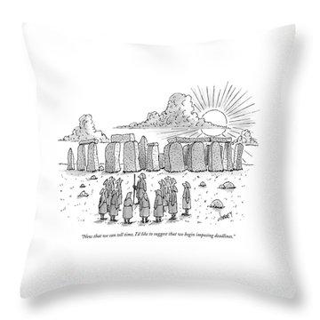 Stonehenge Throw Pillows